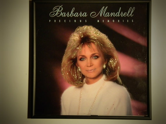 Glittered Record Album - Barbara Mandrell - Precious Memories