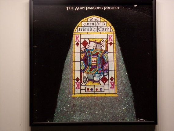 Glittered Record Album - The Alan Parsons Project - The Turn Of A Friendly Card