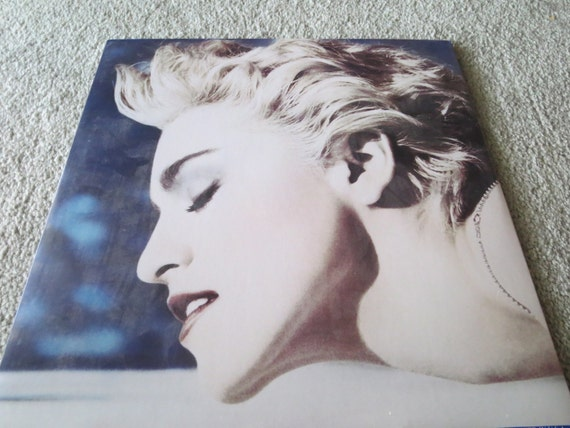 David Jones Personal Collection Record Album - Madonna - True Blue
