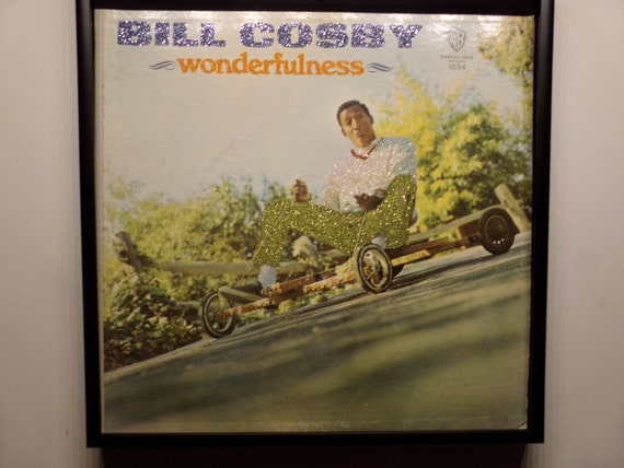 Glittered Record Album - Bill Cosby - wonderfulness