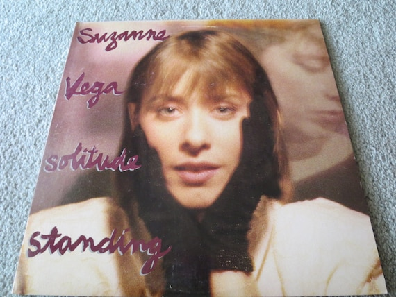 David Jones Personal Collection Record Album - Suzanne Vega - Solitude Standing