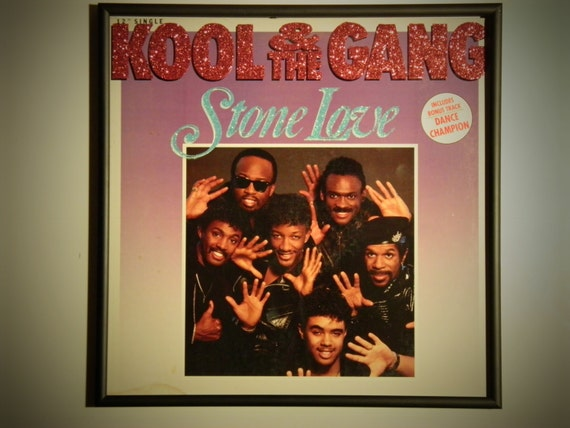 Glittered Record Album - Kool & the Gang - Stone Love