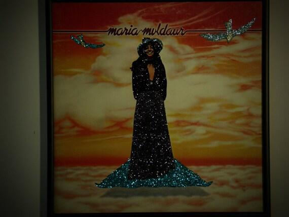 Glittered Record Album - Maria Muldaur