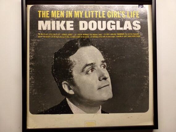 Glittered Record Album - Mike Douglas - The Men In My Little Girl's Life