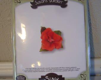 Susan's Garden by Sizzix Thinlits - Hibiscus Flower Die Cut