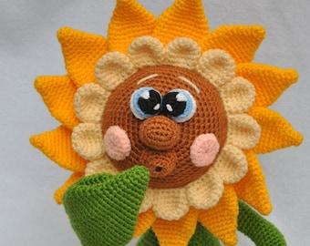 FREE PATTERN Amigurumi: Happy Sunflower – Ink & Stitches | 270x340