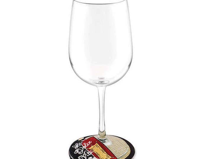 Wine Charm Slipper Coaster, Does Two jobs!