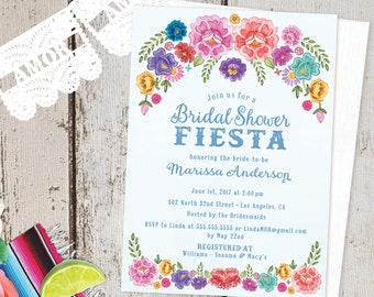 Mexico Invitation Etsy