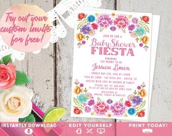 spanish invitation etsy