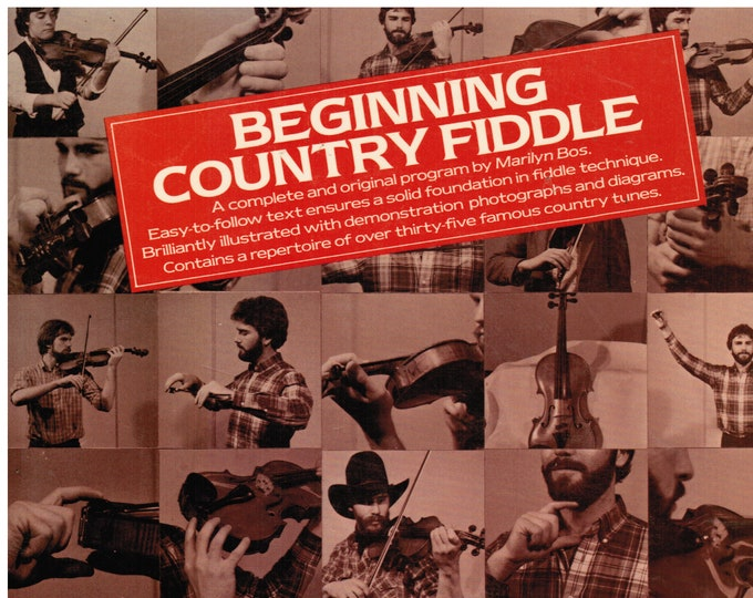 Beginning Country Fiddle Book Vintage