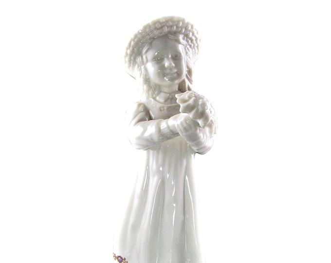 Lenox China Jewels Flower Girl Statue Figurine Wedding Gift Under 50