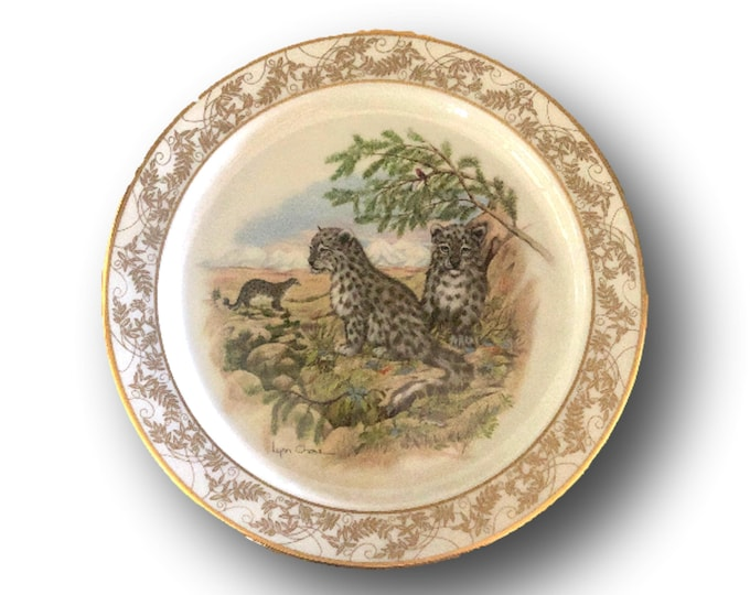 Endangered Species Gift | Limited Edition Plate | Nature's Nursery |  | Boxed Gift Plate | Lenox USA | Gift Under 50