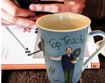 Teacher Coffee Mug, Teacher Gift, Teacher Appreciation Gift, Gift For Teacher For Christmas, Top Teacher Mug, Gift For Her, Gift for Him