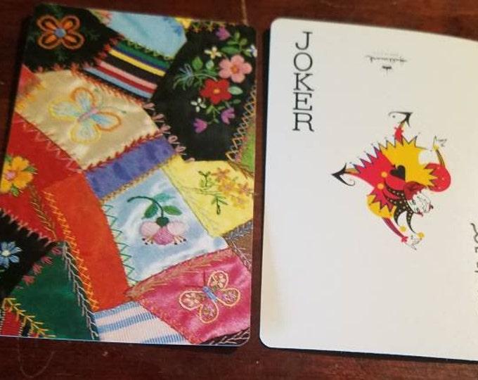 Hallmark Playing Cards | Patchwork Quilt Cards | Heritage Double Deck Bridge Set