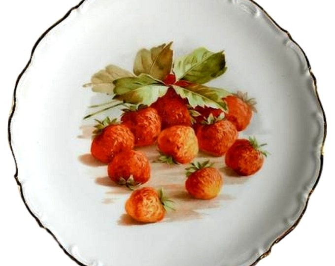Cake Plate | Gifts Under 50 | Hand Painted China | Salad Plate | Schumann Arzberg