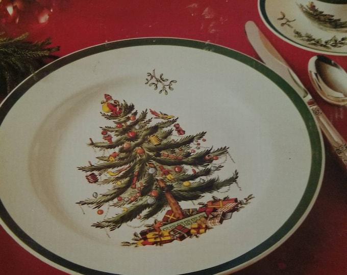 Spode Christmas Tree Buffet Set