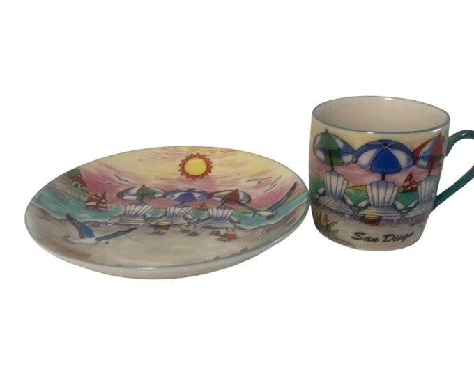 Demitasse Cup and Saucer | Ceramic Teacup