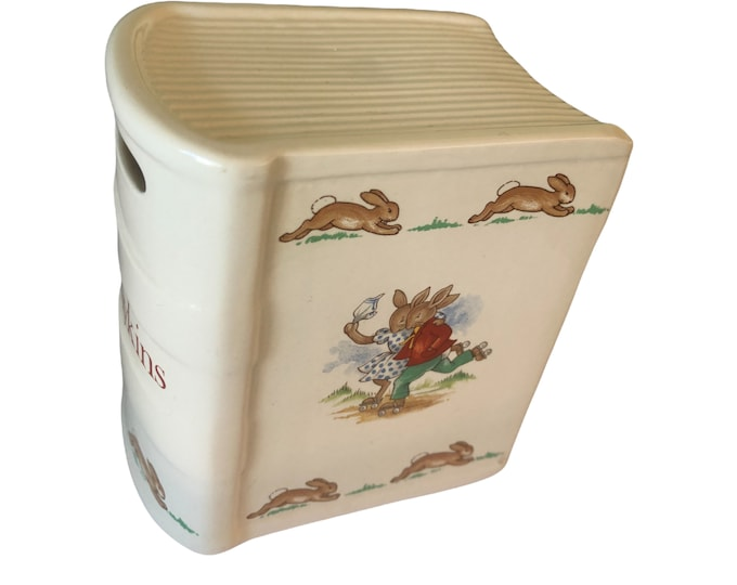 Piggy Bank, Baby Piggy Bank, Royal Doulton, Ceramic Kids Piggy Bank