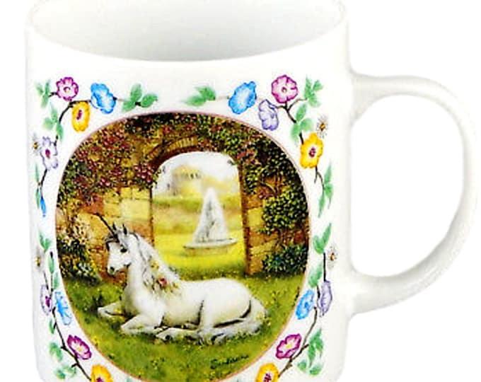 Unicorn Hot Chocolate Mug   Gift Under 30   Enchanted World Hot Cocoa Mug   Unicorn Mug