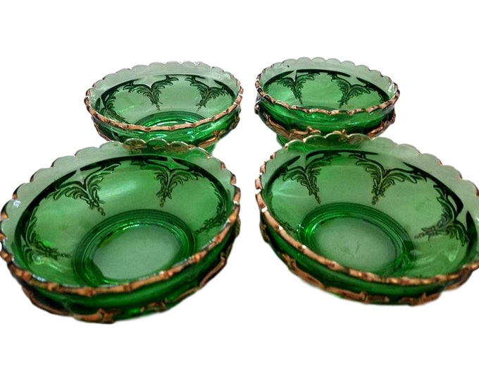 Vintage Heisey Glass Berry Bowls