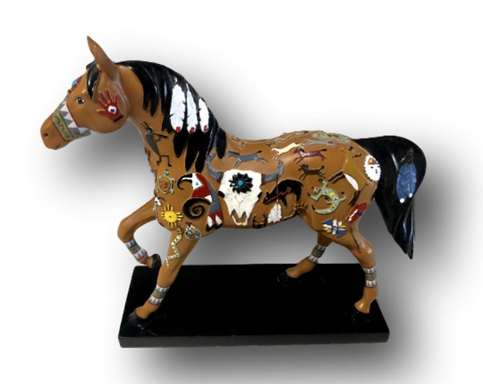 Trail of Painted Ponies | Wie-Tou Paint Pony | Western Decor | Ranch Decor