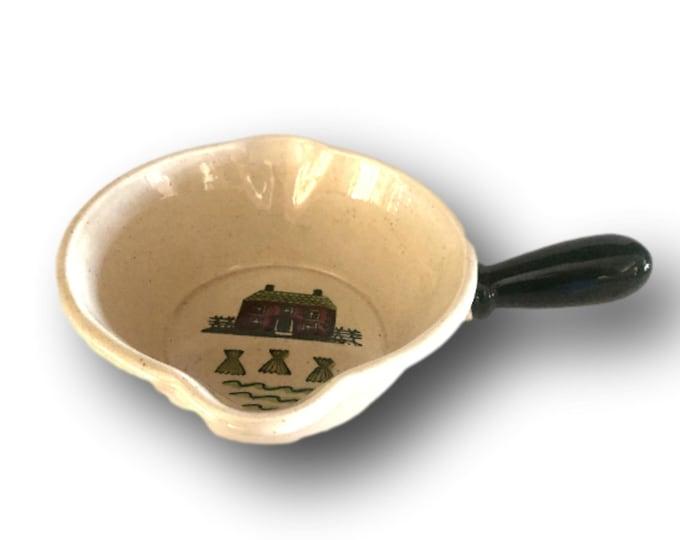 Vintage Metlox Poppytrail Homestead Provincial Gravy Bowl