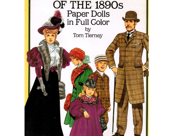 Paper Doll Sets,  American Family 1890's