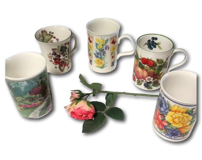 Gift Under 50   Bone China Coffee Mugs    Fine Bone China Coffee Mug   Tea Mugs