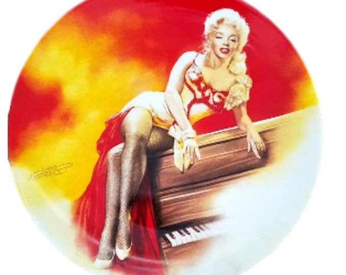 Marilyn Monroe Wall Plate | River of No Return Collector Plate | Gift Under 50 | Wall Decor Plate