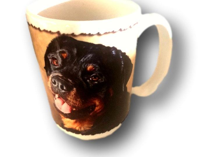 Rottweiler Gifts, Rottweiler Mug Gift, Rottweiler Lover, Rottweiler Dog Lover, Rottweiler Mom
