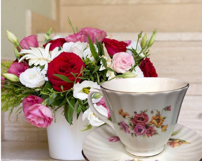 Duchess Floral English Fine Bone China Tea Cup Set | Gifts Under 30