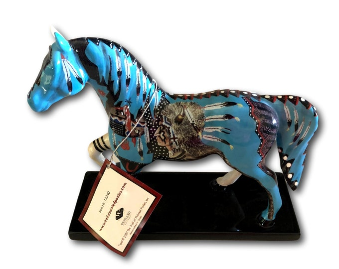 Horse Figurine | Horse Statue | Trail of Painted Ponies