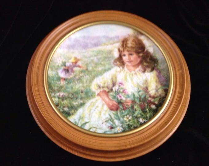 Saint Patricks Day Vintage Framed Plate Ireland