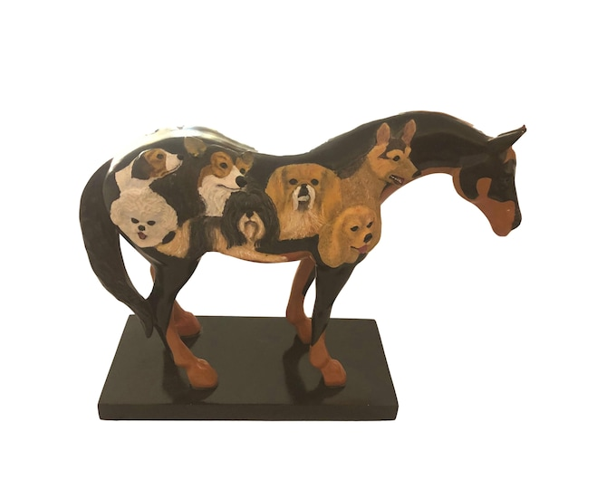 Horse Figurine | Trail of Painted Ponies | Dog & Pony Show