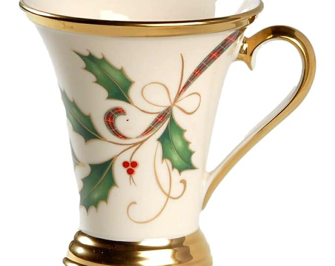 Christmas Mug Set | Holiday Nouveau Accent Mug Set of 4