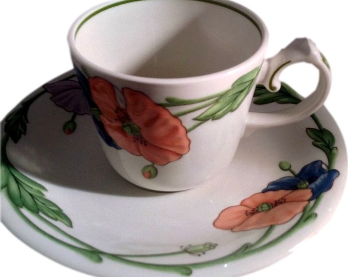 Coffee Cup and Saucer   Villeroy Boch   Amapola