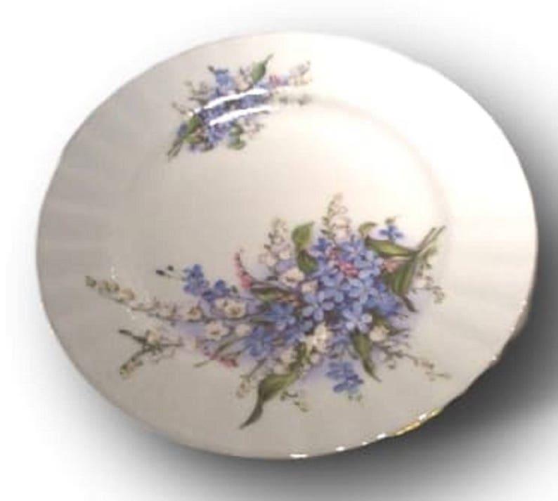 Rohn Porcelain China Plate, German WW2 Era