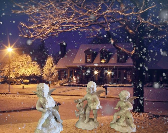 Angel Figurines, Angel Miniature Cherubs