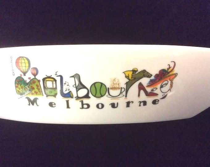 Souvenir Serving Dish Melbourne Australia