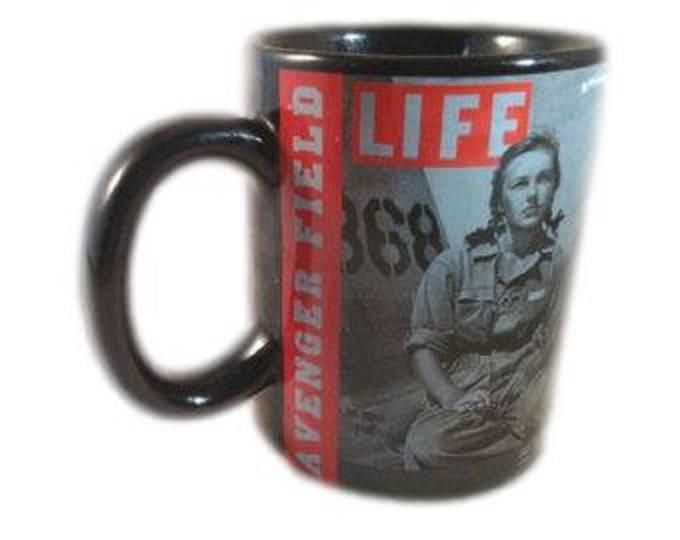 Patriotic Coffee Mug, Life Magazine Coffee Mug, Avengers Field Coffee Mug   WWII Veterans Coffee Mug