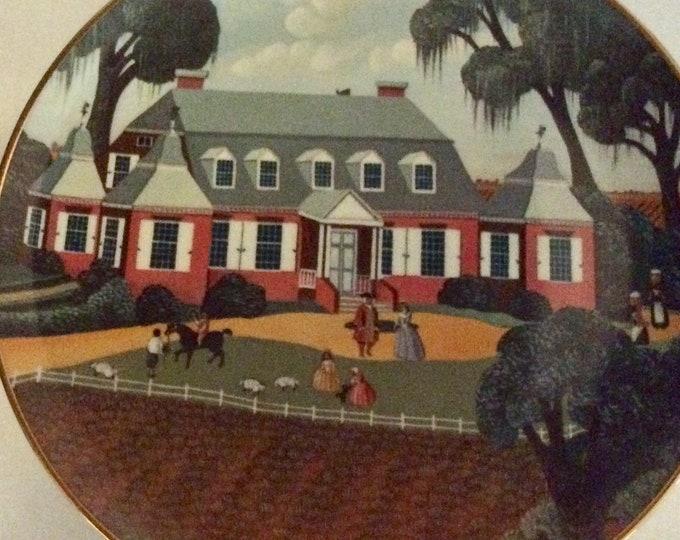 Ridgewood Fine China | Wall Plate | Moncks Corner South Carolina