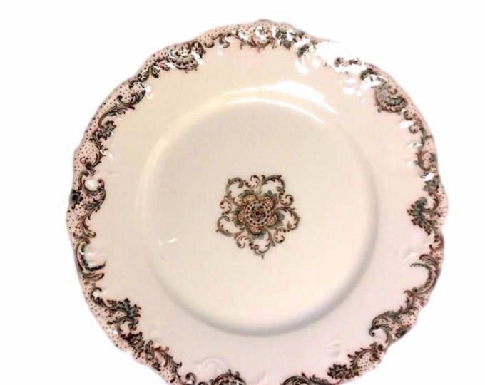 Limoges Haviland Schleiger Salad Plates #1206 - Set of 3 Vintage Plates