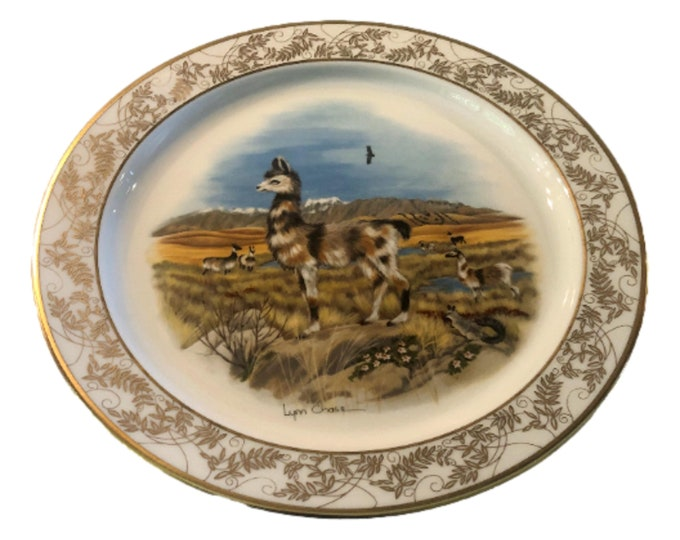 Lenox China | Llama  Limited Edition Plate | Nature's Nursery | Boxed Gift Plate | Lenox USA | Gift Under 50
