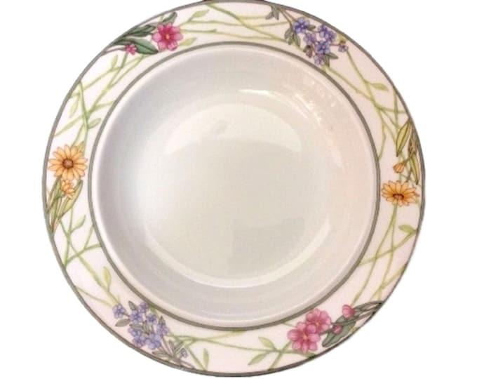Soup Bowl | Salad Bowl | Dansk Cafe Floral Bowl