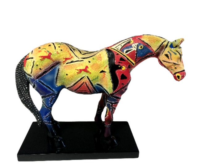 Horse Statue | Horse Figurine | Equine Gifts | Trail of Painted Ponies |  Thunderbird Suite | Ranch Decor