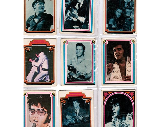 Gifts Under 50 | Vintage Trading Cards | Elvis Presley | Collector Cards | Vintage Elvis Cards | Complete Set