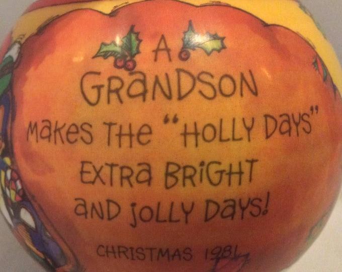 Christmas Tree Ornament Gift For Him Grandson