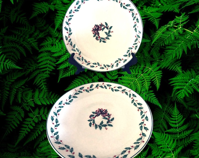 Lenox Collectibles Lunch Plates | Lenox China Accent Luncheon Plates | Set of 6 Plates