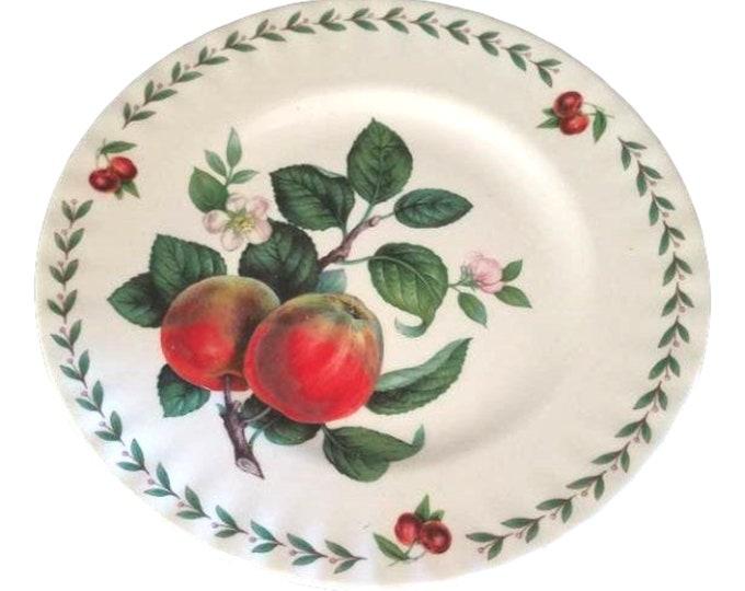 Roy Kirkham Salad Plate | English Fine Bone China Salad Plate | Redoute Fruit Plate | Vintage Salad Plate