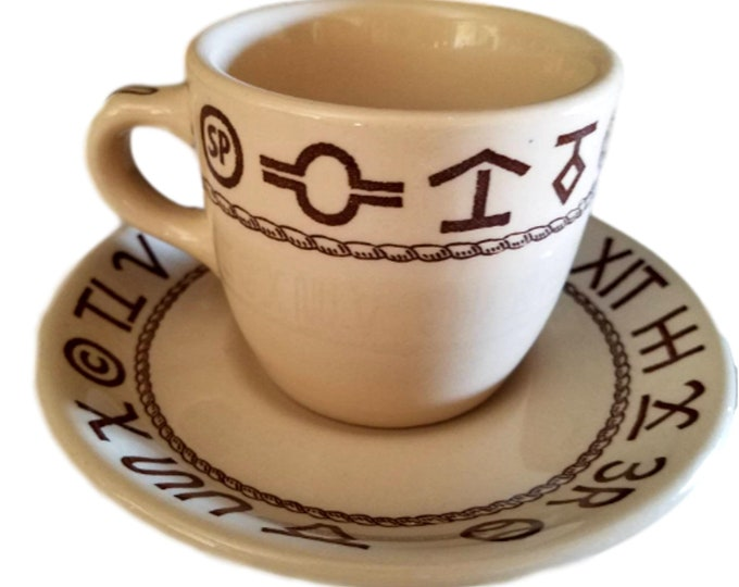 Western Dishes | Restaurant Ware | Wallace China |  Cup and Saucer